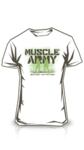 Muscle Army White Woman