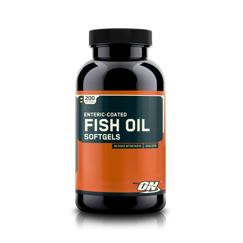Optimum nutrition enteric coated fish oil 200 kapseln for Enteric coated fish oil