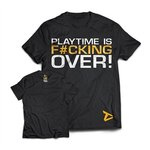 Dedicated Nutrition T-shirt Playtime is over