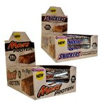 Snickers/Mars Protein Bar Mix - 9x Mars 9x Snickers