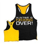 "Dedicated Premium Stringer ""Playtime is F*cking Over"""